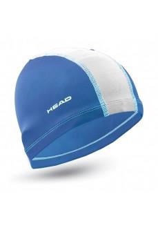 Gorro Natación Head Poliester Cap Azul/Blanco 455125 RYWH