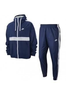 Chándal Hombre Nike Sportswear Suit Marino/Blanco BV3025-411 | scorer.es