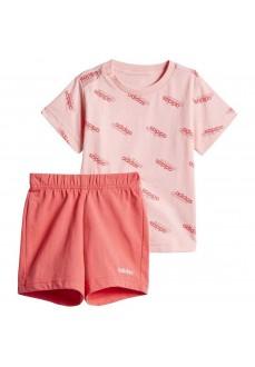 Conjunto Infantil Adidas Favorites Rosa FM0657 | scorer.es