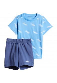 Conjunto Infantil Adidas Favorites Azul/Blanco FM0656 | scorer.es