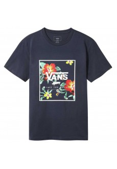 Vans Men's T-Shirt Print Box SS Dress Navy Blue VN0A312SYKB1