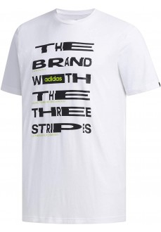 Camiseta Hombre Adidas Dist Fnt Blanco FM6281 | scorer.es
