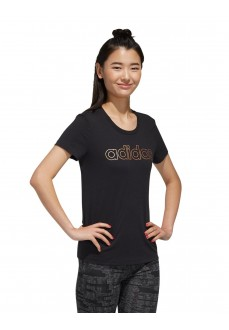 Adidas Women's T-Shirt W Branded T Black FL0164