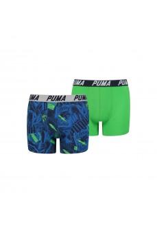 Boxer Niño Puma AOP Azul/Verde 505004001-011 | scorer.es