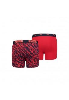 Boxer Kids' Puma Print Navy Blue/Red 505003001-010 | Ropa Interior | scorer.es