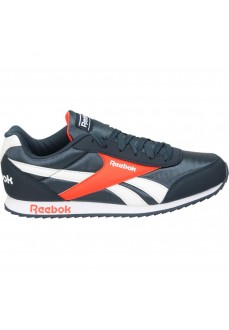 Reebok Kids' Trainers Royal Classic Jogger 2 Navy Blue/Orange/White EF3418 | Kid's Trainers | scorer.es