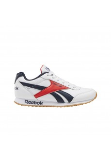 Reebok Kids' Trainers Royal Classic Jogger 2.0 White/Navy Blue/Orange EH1789