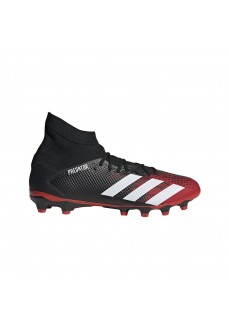 Adidas Men's Football Boots Predator 20.3 Black/White/Red EF1999