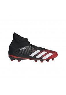 Bota de fútbol Hombre Adidas Predator 20.3 Negra/Blanca/Roja EF1999