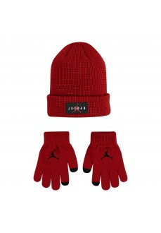 Set Gorro Guantes Nike Jdn Jumpman Air Granate 9A0265-R78