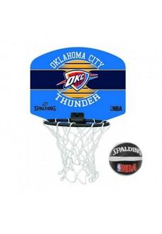 Spalding Mini Basket Nba Miniboar Oklahoma Blue/Navy Blue 77-659Z