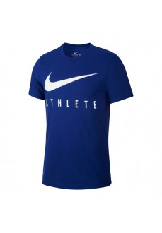 Nike Men's T-Shirt Dri-FIT Blue/White BQ7539-455