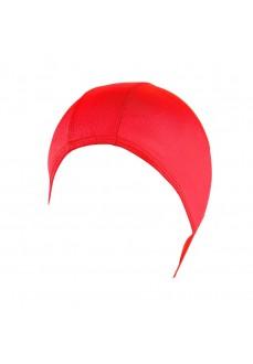 ELASTANE RED SWIM CAP NTG30052