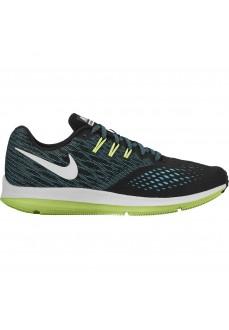 Zapatillas Nike Zoom Winflo 4 Negro/Blanco