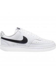 Zapatillas Hombre Nike Court Vision Lo Blanco/Negro CD5463-101 | scorer.es
