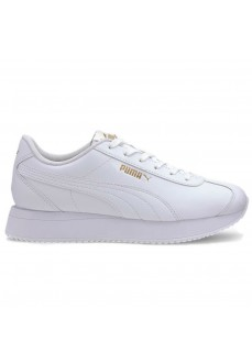 Puma Women's Trainers Turino Stacked White 371115-01