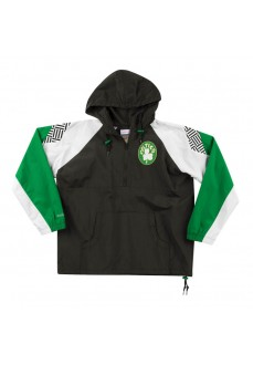 Mitchell & Ness Men's Jacket Boston Celtics Several Colors HFZPDA19008-BCEBLCK-HALF-ZIP