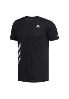Camiseta Hombre Adidas Run It 3 Tiras PB Negro FR8382