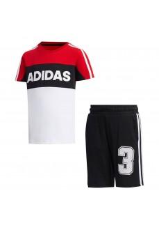 Conjunto Niño/a Adidas Graphic Marino/Rojo/Blanco FM9827