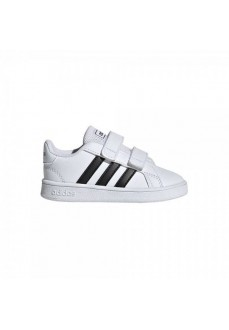 Zapatilla Niño/a Adidas Grand Court Blanco/Negro EF0118