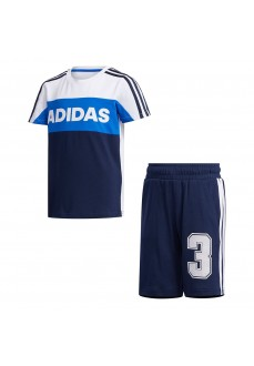 Adidas Kids' Set Graphic Navy Blue/White FM9826