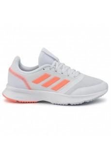 Zapatillas Mujer Adidas Nova Flow Blanco/Coral EH1379
