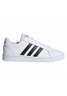 Adidas Kids' Trainers Grand Court White/Black EF0103 | Kid´s Shoes | scorer.es