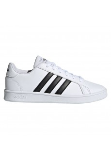 Zapatillas Niño/a Adidas Grand Court Blanco/Negro EF0103