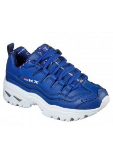 Zapatillas Mujer Skechers Energy Retro Azul 13425 BLU | scorer.es