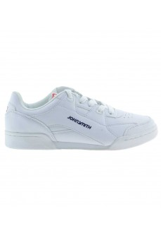 John Smith Men's Trainers Casius White