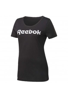 Camiseta Mujer Reebok Essentials Graphic Negro FQ0413