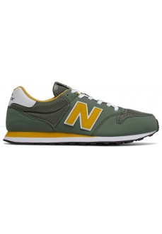 Zapatillas Hombre New Balance Verde/Amarillo GM500 TRU