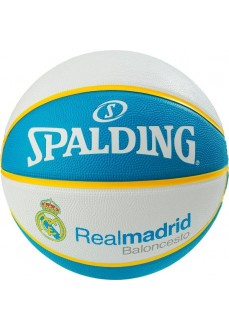Balón Spalding Team Real Madrid Blanco-Azul 83-787Z