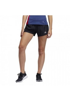 Pantalón corto Mujer Adidas Run It PB 3 bandas Negro FP7537