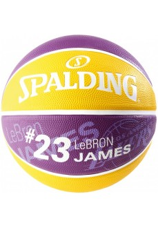 Spalding Ball Lebron James Purple-Yellow 83-848Z