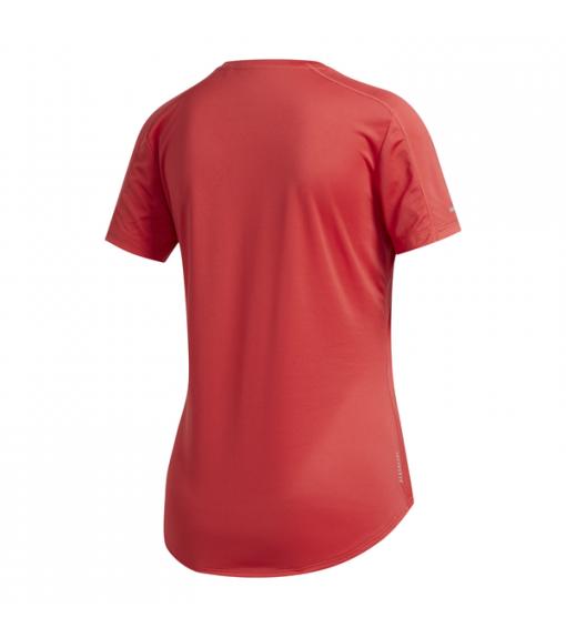 Adidas Women's T-Shirt Run It Fast 3 Stripes Red FR8387 | Running T-Shirts | scorer.es