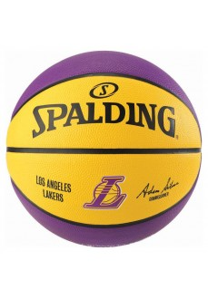Balón Spalding NBA Team Lakers Amarillo-Morado 83-150Z | scorer.es