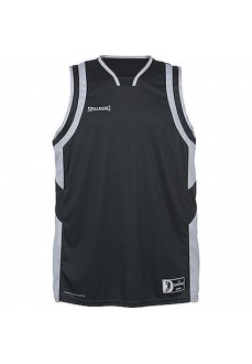 Camiseta Hombre Spalding All Star Tank Tope Antracita-Plata 300213506