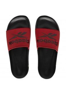 Chanclas Hombre Reebok Fulgere Slide Negro/Rojo EH2897