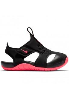 Sandalia Nike Sunray Protect 2 Negro/Rosa 943827-003
