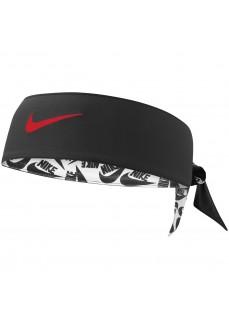 Cinta Nike Printed Dri- Fit Negra/Blanca N0000245127 | scorer.es
