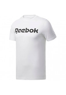 Camiseta Hombre Reebok Graphic Series Linear Logo Blanco FP9163