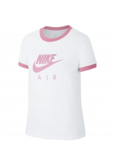Nike Kids' T-Shirt Air White/Pink CI8325-103