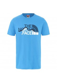 Camiseta Hombre The North Face Mount Line Azul NF00A3G2W8G1 | scorer.es