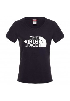 Camiseta Mujer The North Face Easy Tee Negro/Blanco NF00C256JK31