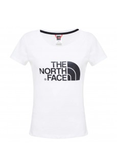 Camiseta Mujer The North Face W Easy Tee Blanco/Negro NF00C256LG51