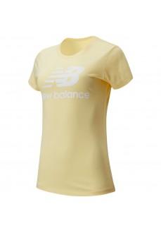 Camiseta Mujer New Balance Essentials Amarillo WT91546 SUG | scorer.es