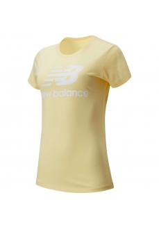 New Balance Women's T-Shirt Essentials Yellow WT91546 SUG | Women's T-Shirts | scorer.es
