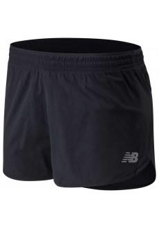 Pantalón Corto Mujer New Balance Accelerate SS WS01206 BK