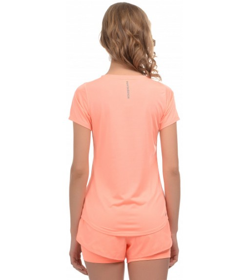 New Balance Women's T-Shirt Accelerate SS WT91136 GPK Orange | Women's T-Shirts | scorer.es